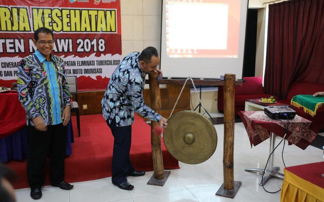 Rakerkes 2018, Wabup Ony Minta Kerjasama Seluruh Stakeholder
