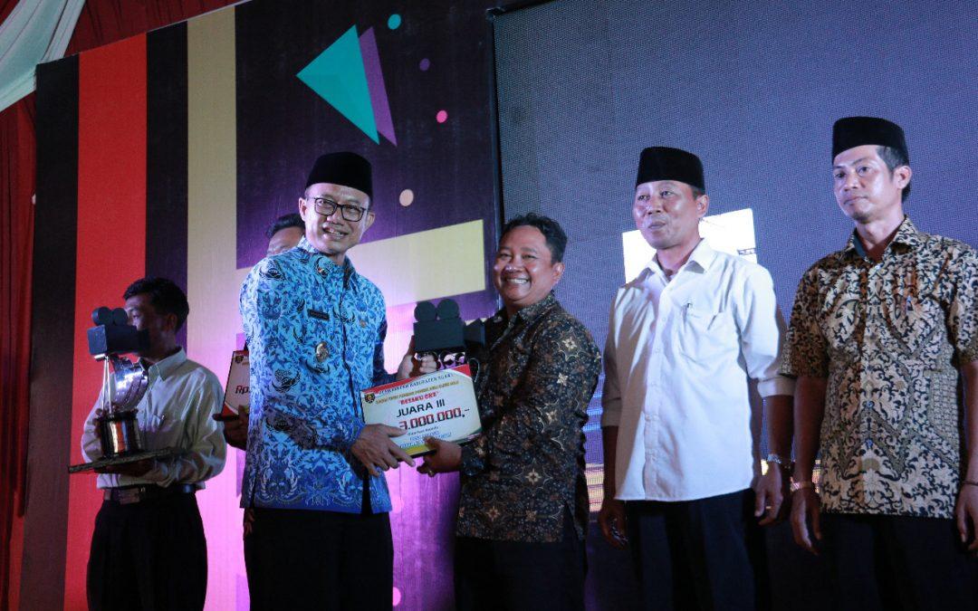 Awarding Ceremony Lomba Video Promosi Potensi Desa, Ajang Promosikan Segala Potensi Desa