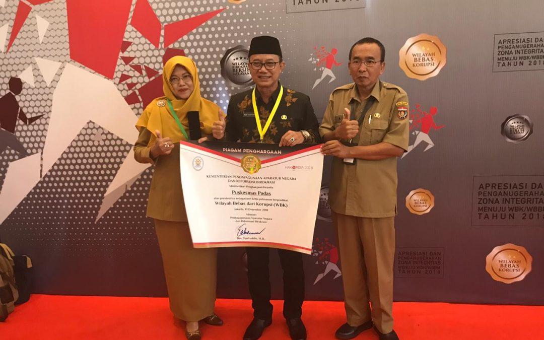 Kabupaten Ngawi Raih Penghargaan Zona Integritas WBK Bupati : Harus Bisa Melayani Dengan Baik Dan Sempurna