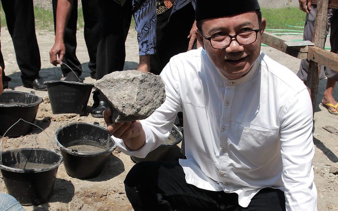 Peletakan Batu Pertama, Gedung PGRI Kabupaten Ngawi