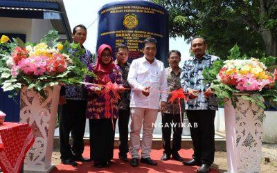 Kementerian ESDM Berikan Bantuan Sumur Bor dan PJU-TS, Wabup Ingin Dimanfaatkan Dengan Baik