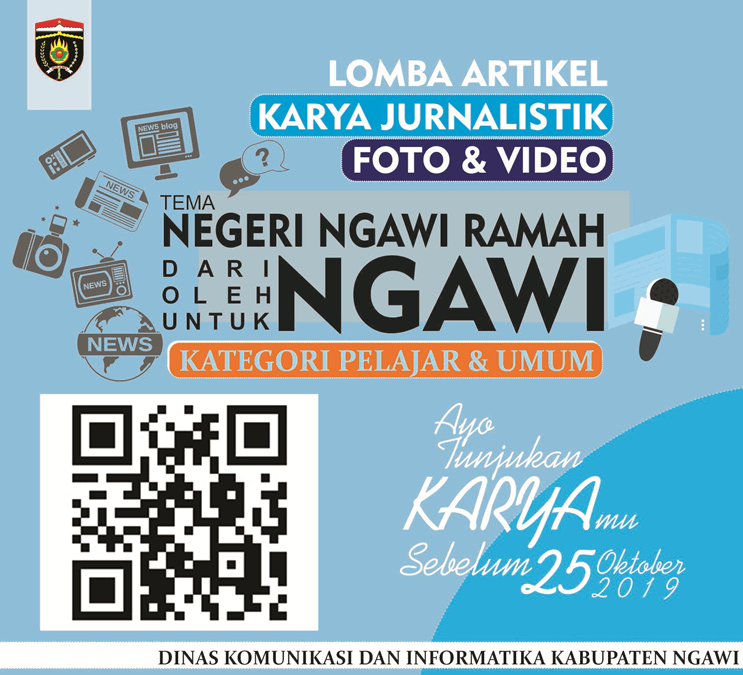 Lomba Artikel Karya Jurnalistik Foto dan Video 2019