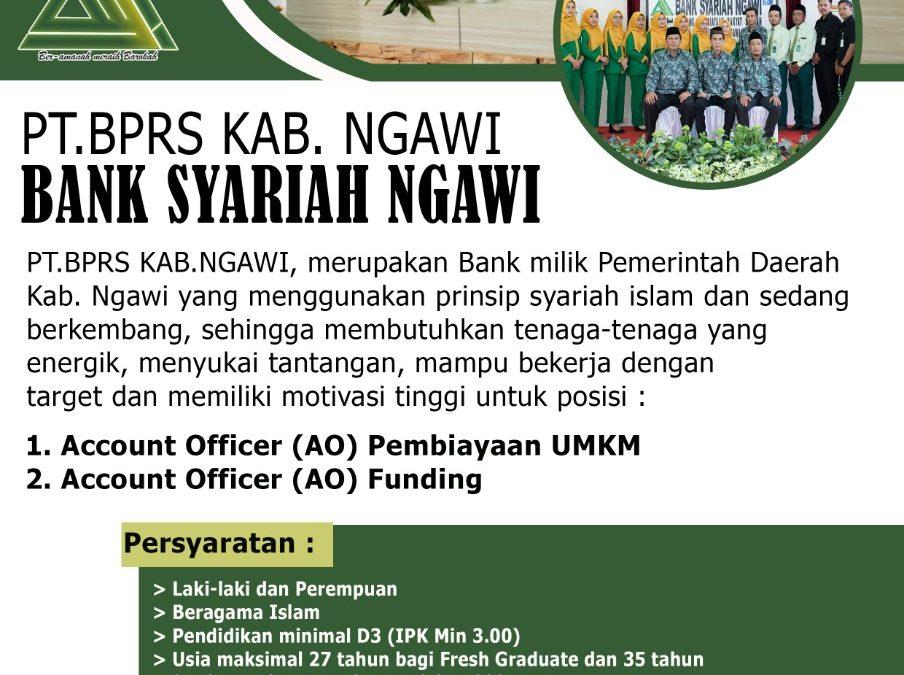 Lowongan Kerja Bank Syariah Kabupaten Ngawi